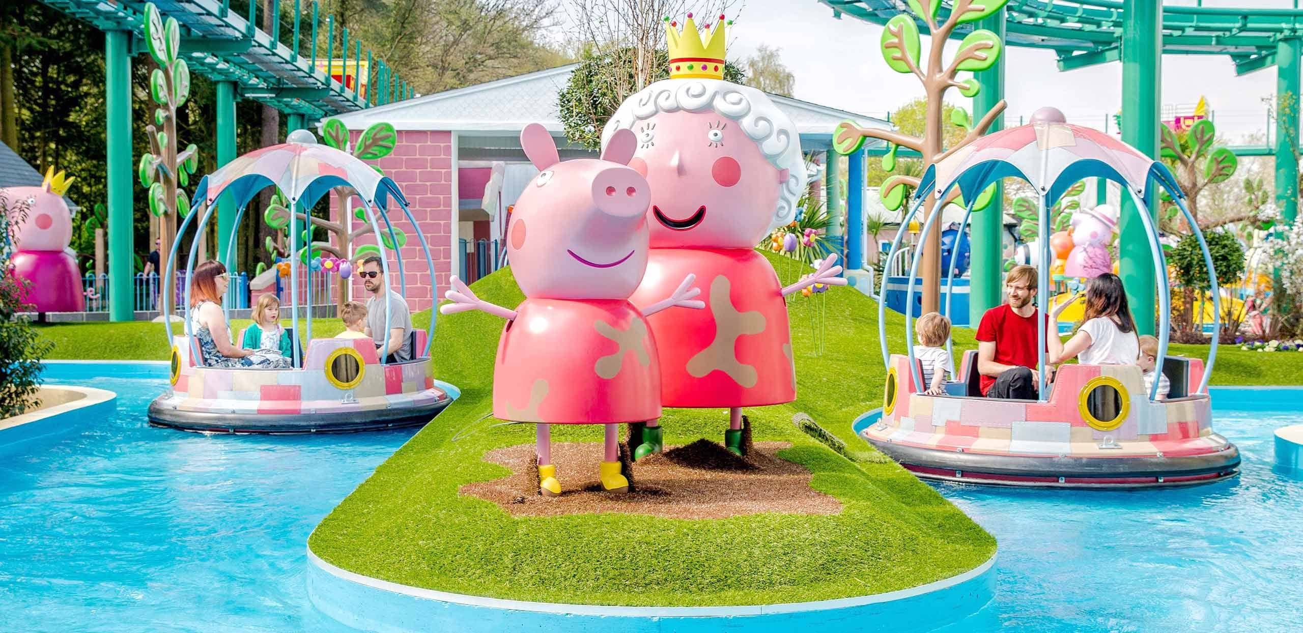 Open at an even bigger Peppa Pig World from 16th May 2018!
