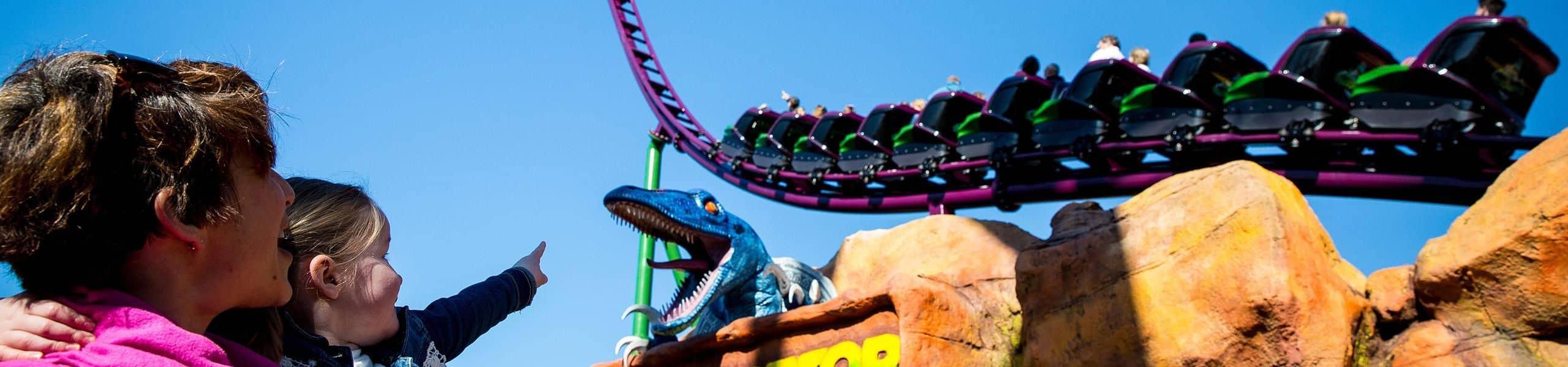 Velociraptor Family Roller Coaster | Paultons Park