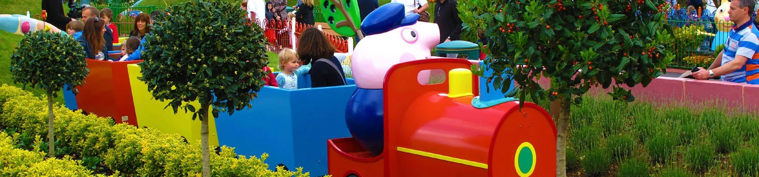 Grandpa Pig's Little Train