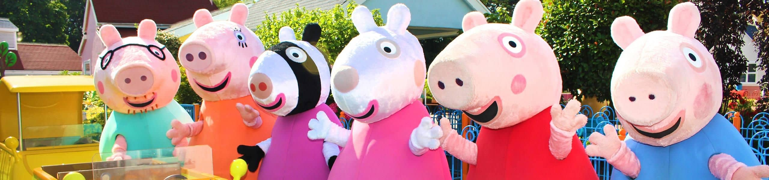 Meet Peppa Pig And Friends Paultons Family Theme Park