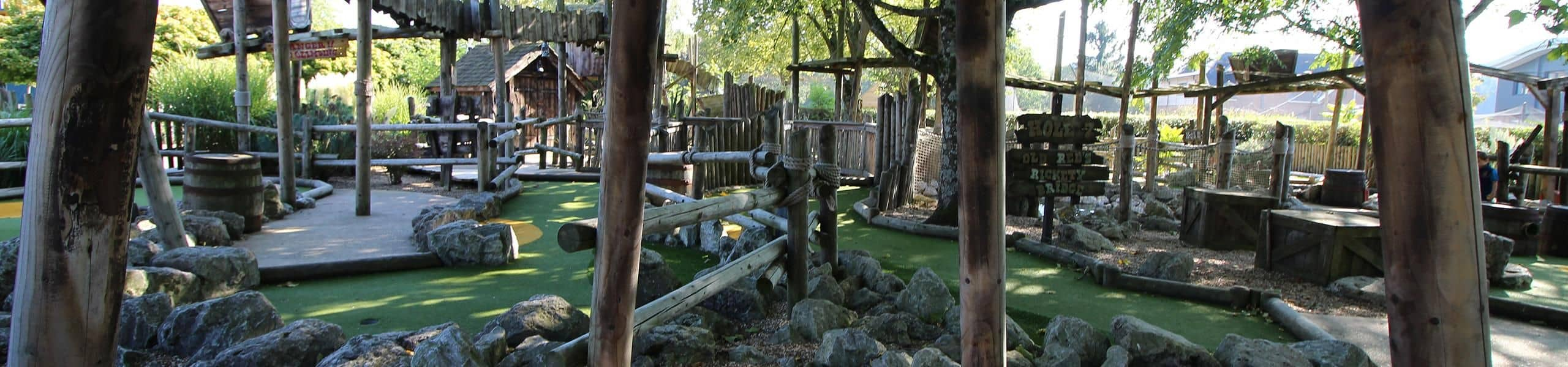 Gold Rush Falls Adventure Golf