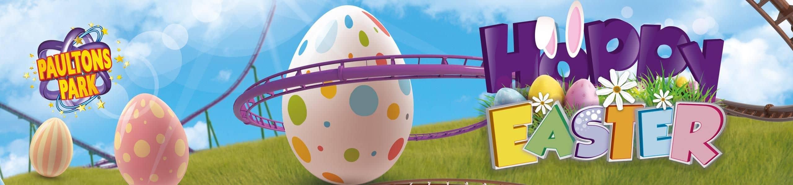 ''Hoppy'' Easter at Paultons Park