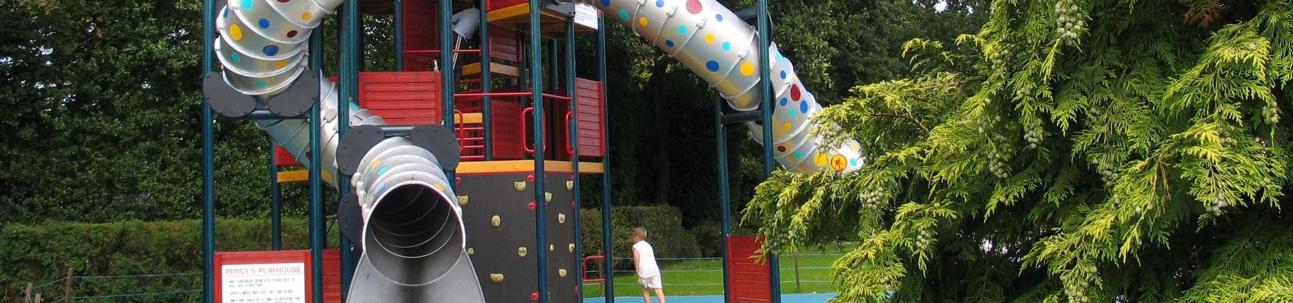 Percy's Play Park and Playhouse | Paultons Park