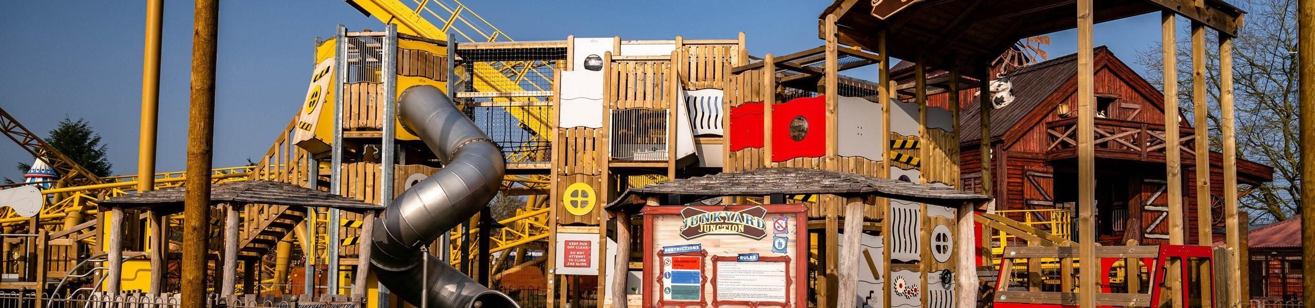 Junkyard Junction Adventure Play Area | Paultons Park