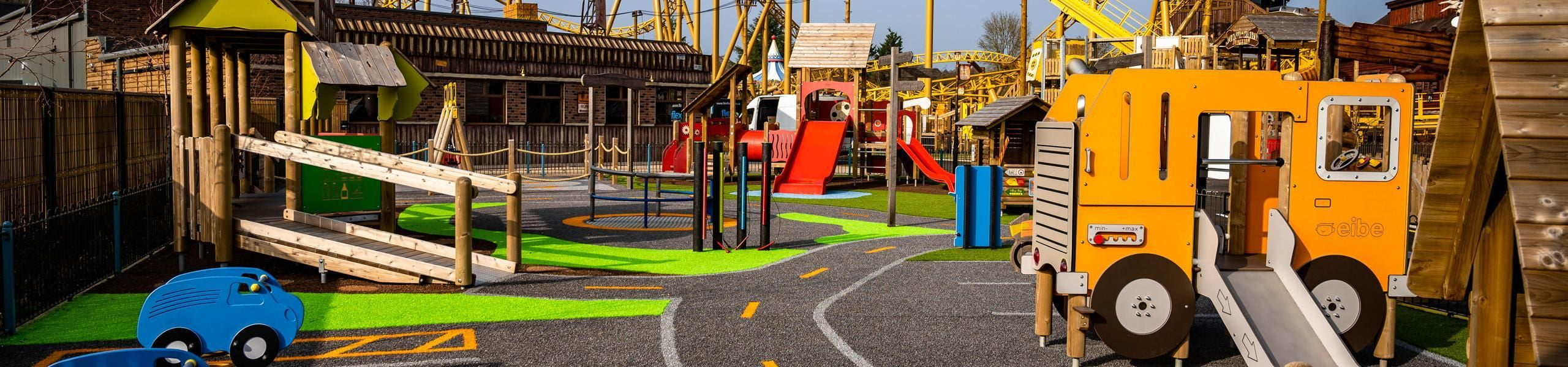 Parking Lot Tots Playground | Paultons Park