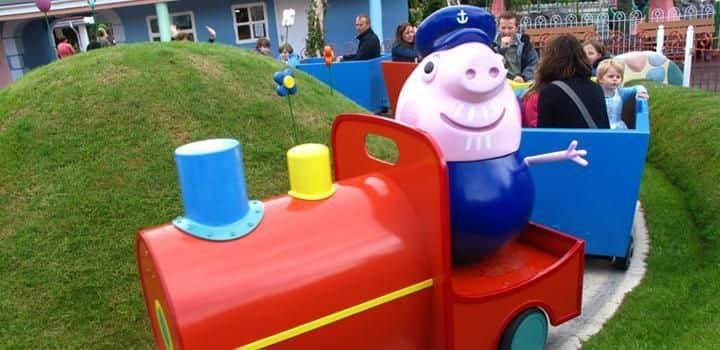 Grandpa Pig's Little Train