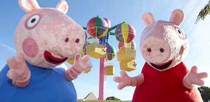 Meet Peppa Pig and George
