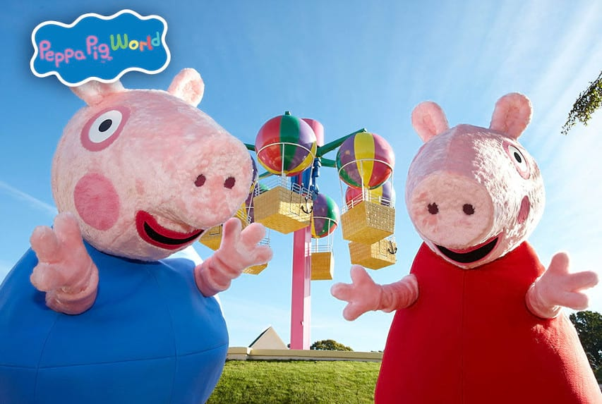 Peppa And George Banner